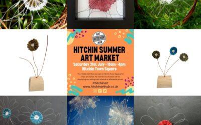 Hitchin Art Hub Summer Market