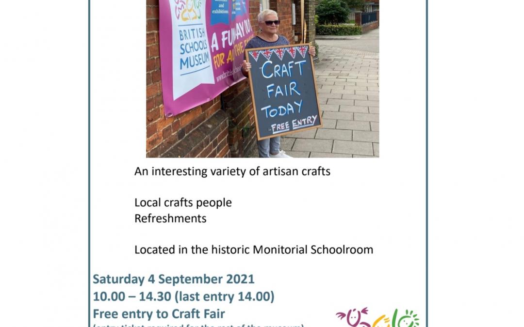 Craft Fair at Bristish Schools Museum Hitchin 4th September