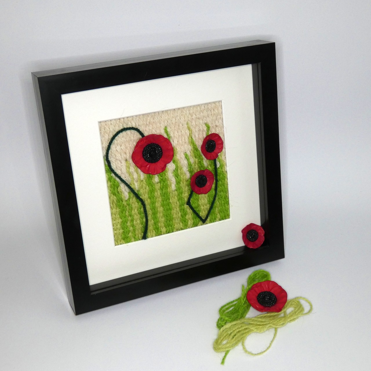 Poppy field: An Introduction to Woven Tapestry